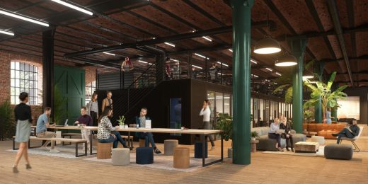 All Work & Social Manchester Building, Granada Studios workspace
