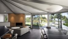 Butterfly Dodecagon Residence Los Angeles California