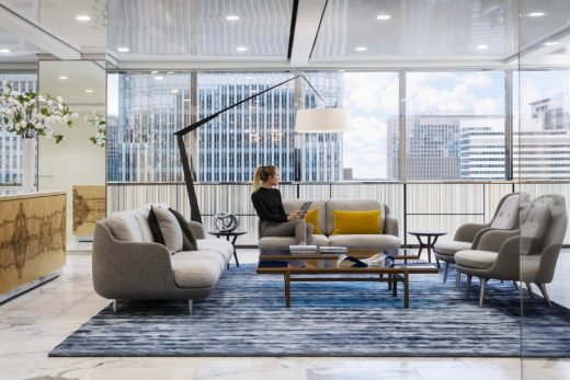 Charles River Associates Chicago offices interior