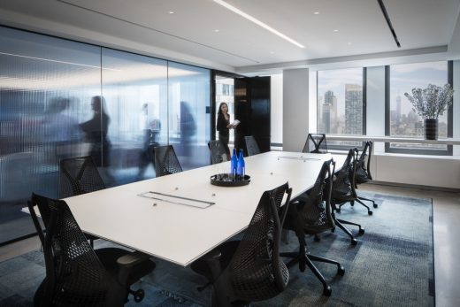 Charles River Associates New York City offices meeting room