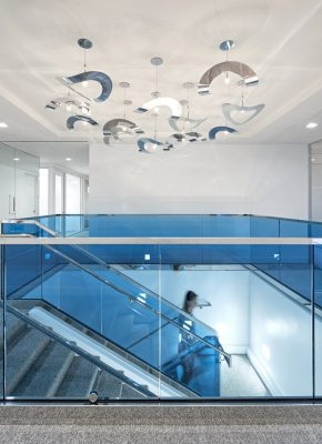 Charles River Associates Washington, D.C. Office interior design