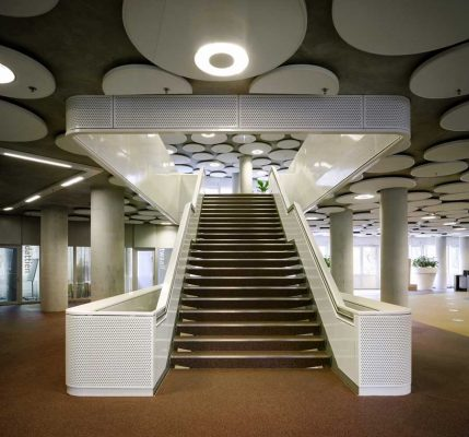 EEA and Tax offices Groningen building interior