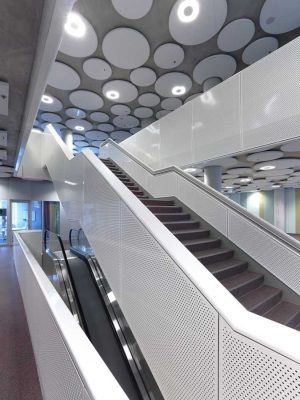 Education Executive Agency Groningen Office Tower interior