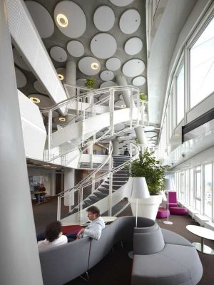 Education Executive Agency Groningen, Dutch Office Tower interior