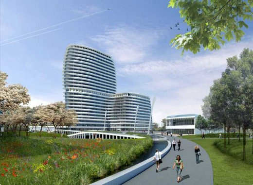 IBG and Tax Offices Development by UNStudio Architects