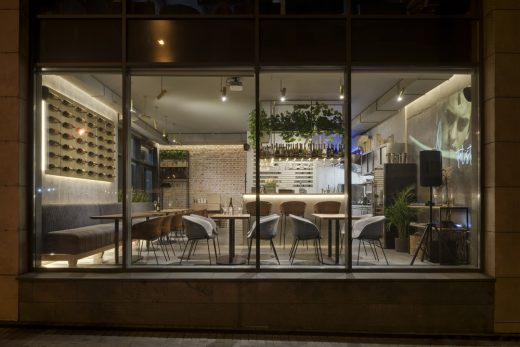 Italist Prosecco Bar Kyiv - Ukraine architecture news
