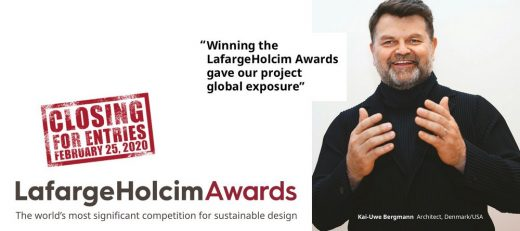 LafargeHolcim Awards for Sustainable Construction in 2020 Protagonist Bergmann