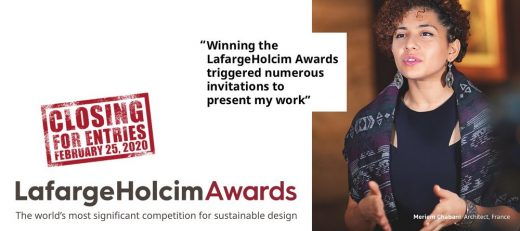 LafargeHolcim Awards for Sustainable Construction in 2020 Protagonist Chabani