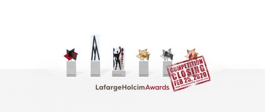 LafargeHolcim Awards for Sustainable Construction Trophies