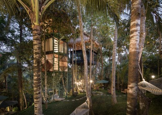 Lift Treetop Boutique Hotel Bali Indonesia building