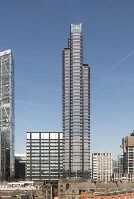 Principal Place Shoreditch apartments by Foster + Partners
