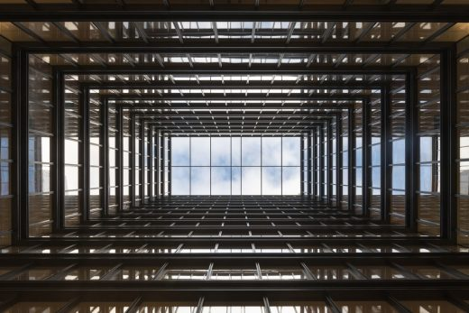 Principal Tower Shoreditch atrium by Foster + Partners Architects