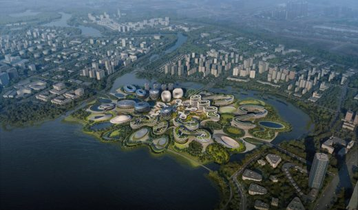 Unicorn Island Masterplan in Chengdu, China