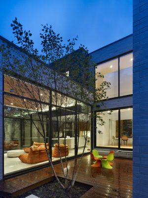 Cedarvale Ravine House Toronto mid-town design by Drew Mandel Architects