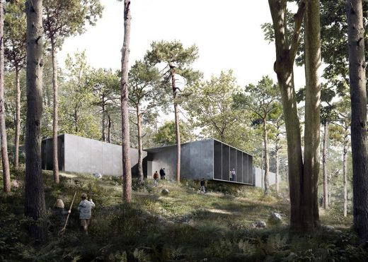 Cold War Museum Rold Forest Jutland - Denmark Architecture News