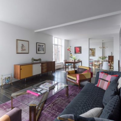 Collector's Flat Interior in Central London