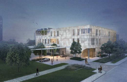 Houston Endowment International Design Competition entry by Schaum/Shieh Architects