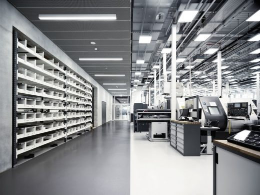 IWC Manufacturing Center Schaffhausen design by ATP architects engineers