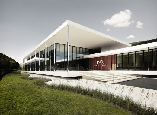 IWC Manufacturing Center Schaffhausen Switzerland