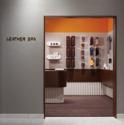 Leather Spa Saks 5th Ave New York City