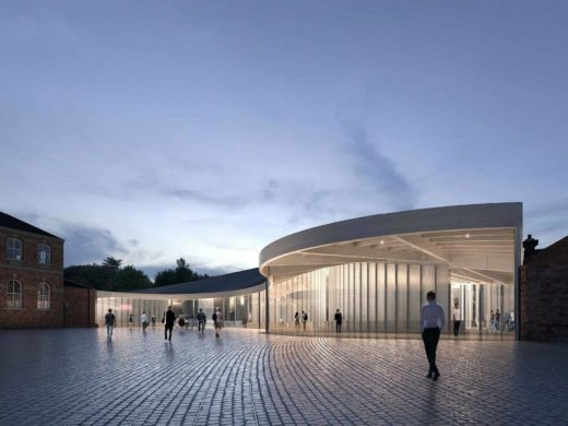 National Railway Museum York Design Competition entry by Heneghan Peng Architects with Arup and PFB Construction Management Services