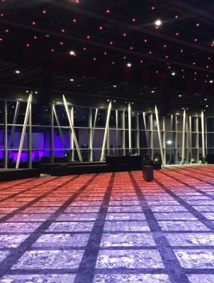 Nova Centre in Halifax - Major Nova Scotia interior design