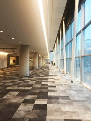 Nova Centre in Halifax - Major Nova Scotia building interior