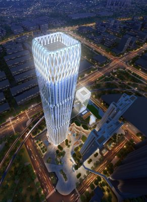 Poly 335 Financial Center Guangzhou Architecture News, Zengcheng District