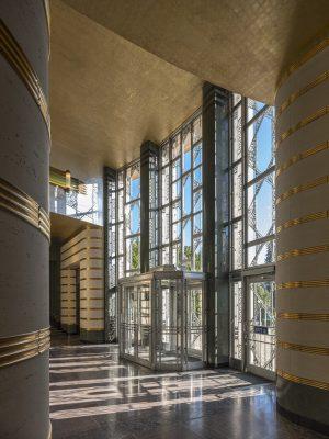 Seattle Asian Art Museum Building interior Washington USA