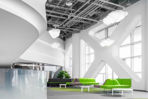 Hunan offices design by AFFD Design Firm
