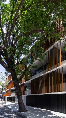 Buenos Aires building design by Cubero Rubio Architects