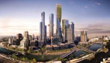 Australia's Tallest Tower Southbank by Beulah