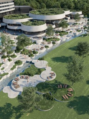 Resort Complex design by Enota