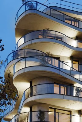 Courbes Apartment Building Colombes Paris