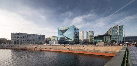 Cube Berlin Building by 3XN Architects