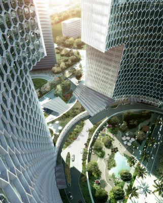 DUO towers Singapore Office Buildings