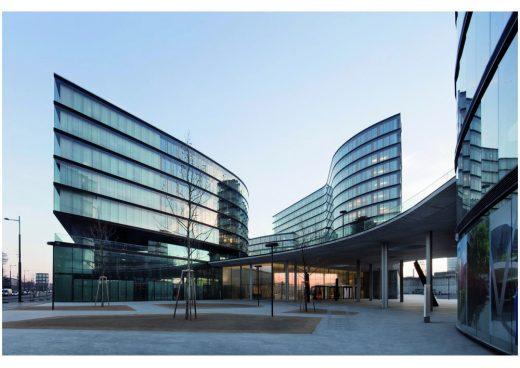 Vienna developments Erste Campus Headquarters Wien