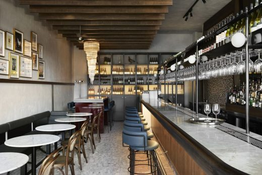 Frederic Restaurant & Bar in Melbourne by SJB Interiors