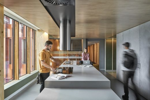 Melbourne Student Flats design by JCB Architects