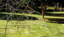 Kagome Bamboo Woven Pavilion Queensland University