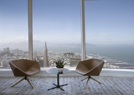 Salesforce Tower Office Space San Francisco