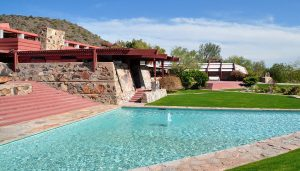 Taliesin West desert laboratory, Arizona, USA