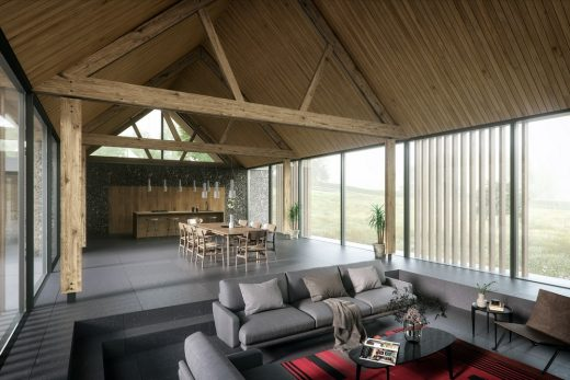 The Barns Family Home by English architect office