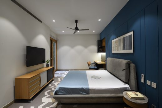 Contemporary Home in India design by Spaces Architects @ka