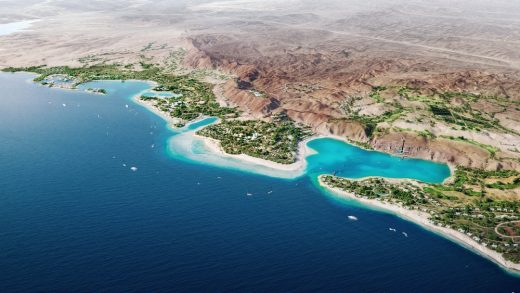 Triple Bay Coastal Development Saudi Arabia