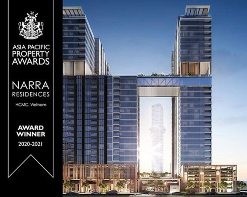Asia Pacific Property Awards 2020, Narra Residences, 10 DESIGN