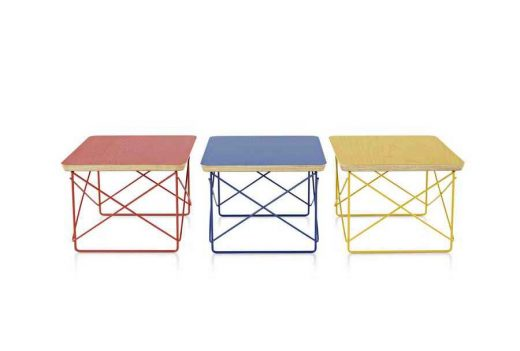 Charles and Ray Eames LTR furniture design