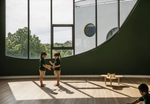 Vinh Kindergarten building interior children play