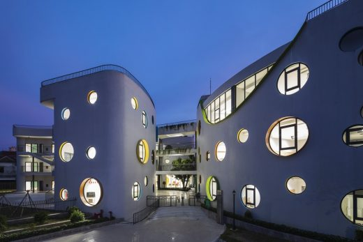 Vietnam building design by LAVA Architects