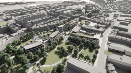 New Town North Development at Former RBS Site